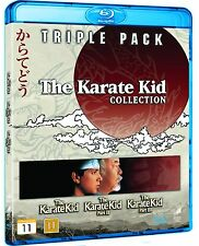 Karate Kid 1-3 Box Set Region Free Blu Ray