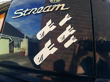 Droppin Bombs, Quality JDM or Euro vinyl Car or Bike Stickers / Decals 12colours