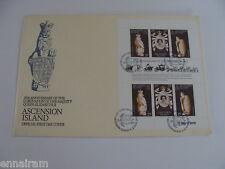 Queen Elizabeth II Silver Jubilee Coronation FDC Ascension Island #2 1978
