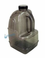 Black 1 Gallon Plastic Water Bottle BPA Free Jug Container Canteen Eco Friendly