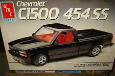 1990 CHEVY C1500 454 SS PICKUP + EXTRA'S RESIN COWL IND. HOOD WIDE TIRES/RIMS
