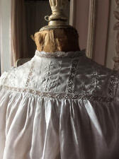 ~*Victorian White Work Emb & Lace Nightdress/Christening Gown*~