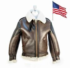 Blouson Bombardier B3 du Général Patton COCKPIT USA Ex Avirex MADE IN USA