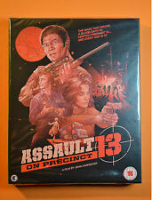 Assault on Precinct 13 Blu-ray 40th Anniversary Limited Edition Box Set  New