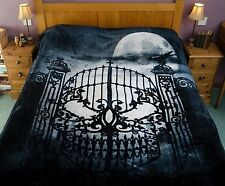 Alchemy Gothic Abandon all Hope Fleece Blanket 150x200cm USA Size 60x78 inches