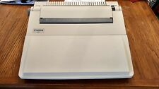 Canon ES3 Portable Typewriter w/ cover & cord