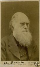 CHARLES DARWIN Signed Photograph - Naturalist / Scientist