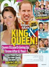 2015 OK! Magazine: William & Kate - King & Queen - Queen Elizabeth Stepping Down