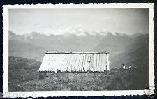 photo ancienne  . Haute-Savoie . Mont-blanc vu de la chapelle du mont St-Jacques
