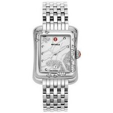 NEW MICHELE EXTREME BUTTERFLY DIAMOND STAINLESS STEEL LADIE'S WATCH MWW04B000001