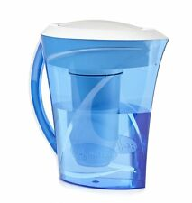 ZeroWater ZD-013D 8-Cup Water Filtration Pitcher, Blue by ZeroWater