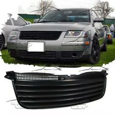 FRONT BLACK GRILL FOR VW PASSAT 3BG 00-05 NO EMBLEM SPOILER BODY KIT