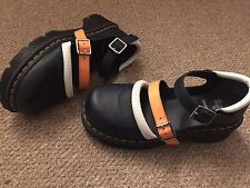 Dr Marten Agyness Dean Navy T Bar Shoes New Condition Size 7