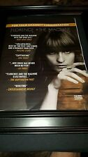Florence + The Machine Rare Original Grammy Award Promo Poster Ad Framed!