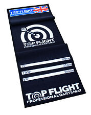 NEW TOP FLIGHT PROFESSIONAL DARTS MAT DART MAT DART OCHE MARKER NON SLIP BACKING