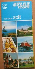 Booklet Aviation Ship Bus Air Plane Craft Sea Beach Resort Atlas Tour Ways Rout