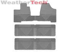 WeatherTech® All-Weather Floor Mats - Toyota Sienna - 2004-2010 - Grey