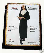 NUN HALLOWEEN PARTY FANCY DRESS UP COSTUME X LARGE HEN NIGHT