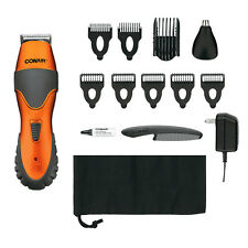 CONAIR 14pc Stubble Trim Grooming System GMT265CS Trimmer Nose Ear Hair Cordless