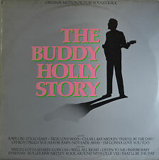 "OST - THE BUDDY HOLLY STORY - JOE RENZETTI  12""  LP (Q915)"