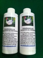 125ml Incubator disinfectant cleaner poultry Sanitiser & Egg Wash concentrate