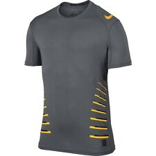 Nike Pro Cool Fitted Speed Vent Training Shirt 2XL Gray New Dri-Fit