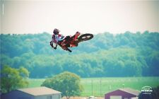 "MOTOCROSS DIRT BIKE JUMP SPORT PHOTO ART PRINT POSTER 40""x24"" 006"