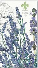 TWO (2) Lavender, Rosemary Paper Hostess Napkins for Decoupage and Paper Crafts