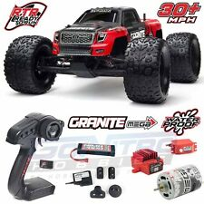 ARRMA 1/10 Granite MEGA Brushed 2WD Truck Red/Black RTR W/TTX300/Battery/Charger