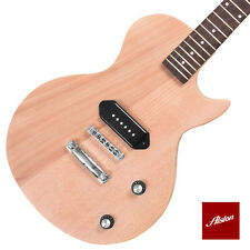 DIY Project Guitar Kit LP Junior Style Solid Mahogany Body Set In Neck A008