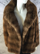 Silky Soft Birger Christensen Sable Mink Coat Gorgeous Luxe Stroller