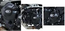 R&G ENGINE CASE COVER KIT (3 Covers) for YAMAHA MT-09, 2013 to 2015
