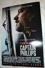 Captain Phillips 12x18 Signed by the Real Captain Richard and Paul Greengrass #1