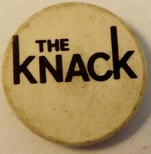 "THE KNACK Vtg 70`s/80`s Button Badge Pin(25mm-1"") New wave #TK102"