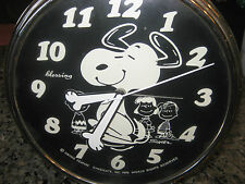 Snoopy Alarm clock, Blessing,West Germany, 1970