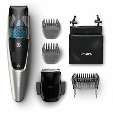 PHILIPS BT 7220/15 Beard Trimmer with vacuum in silver / black