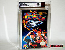Back to the Future II & III Nintendo NES Brand New Sealed VGA 85+ Gold Mint