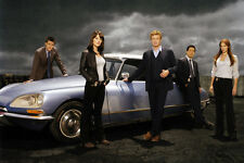 Amanda Righetti Robin Tunney Simon Baker Citreon DS car The Mentalist TV Poster