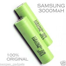 Genuine Samsung 3000mAh 3.7V 18650 Rechargeable Lithium Battery ICR18650-30B