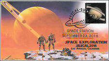 2016,SESCAL Stamp Show, Space, Saturn, Los Angeles CA, 16-360
