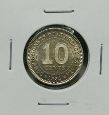 1939 - MALAYA KING GEORGE VI  10CENTS (AU)