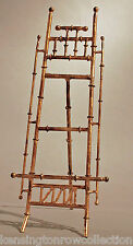 "EASEL - ""CANTON"" TABLETOP DISPLAY STAND - PICTURE STAND - ANTIQUE GOLD - 16""H"