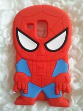 Silicone Cover per cellulari SPIDER2 para SAMSUNG GALAXY S3 MINI