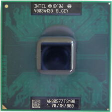 Cpu Processore Intel Celeron T3100 1.90/1M/800 SLGEY per notebook dual