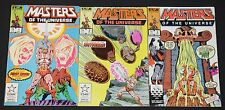 Vintage Marvel Copper Age Masters of the Universe 3pc Low to Mid Grade Comic Lot