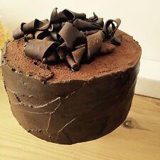 6in falsos Chocolate Pastel