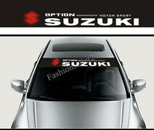 Front Windshield Banner Decal Vinyl Car Stickers for SUZUKI Car Styling Emblems