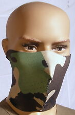 Masque Néoprène camo Airsoft Paintball Moto SKI