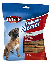 Trixie Bull Pizzles Bully Sticks 12cm Pack of 8 Dog Treats Chews 100g MPN 3145
