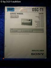 Sony Service Manual DSC V1 Level 1 Digital Still Camera (#5847)